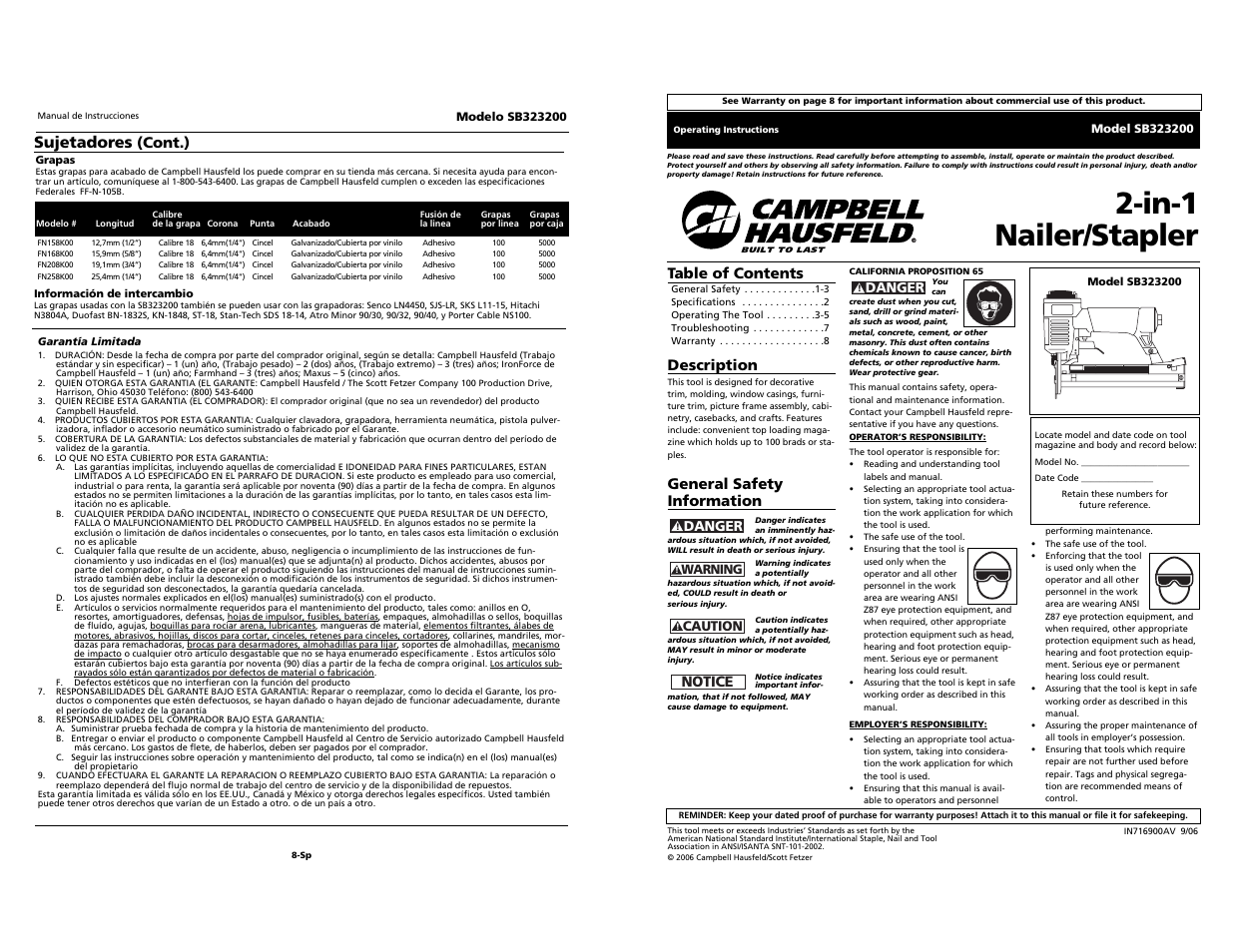 campbell hausfeld sb323200 user manual 12 pages original mode rh manualsdir com campbell hausfeld framing nailer manual campbell hausfeld iron force framing nailer manual