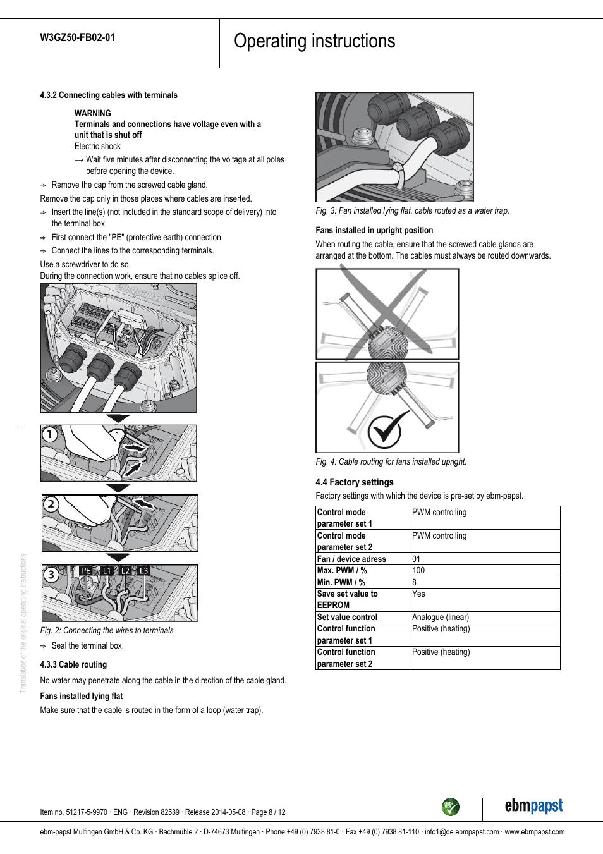 Ebm Papst Motor Wiring Diagram Best Wiring Library