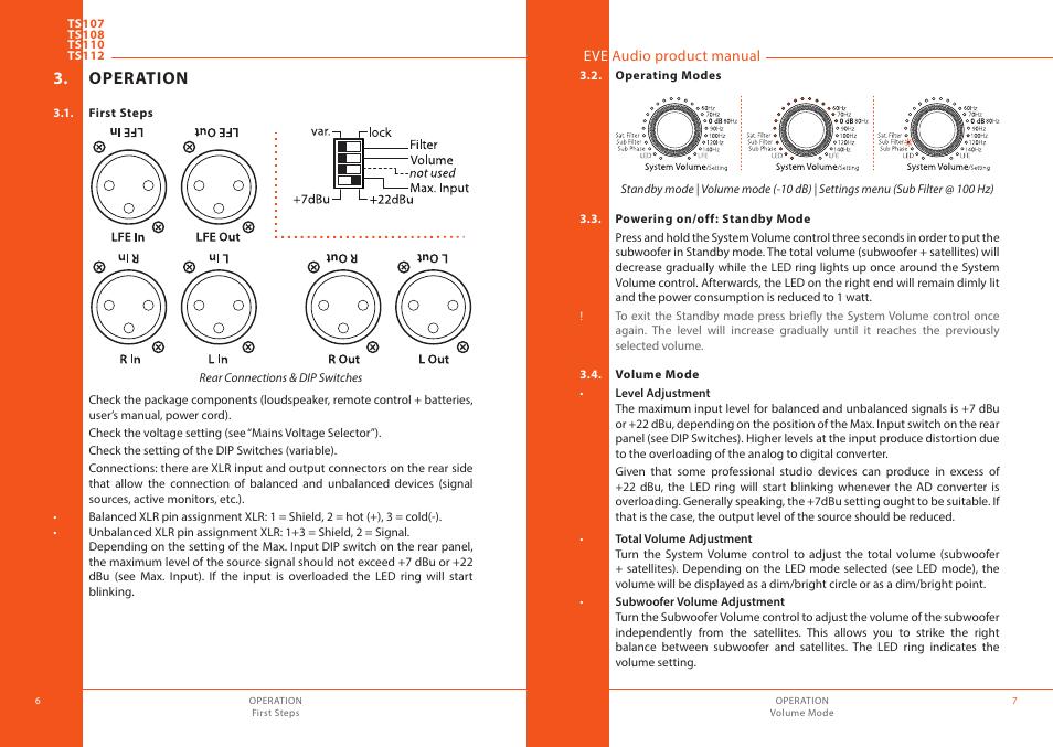 operation first steps operating modes eve audio ts112 user rh manualsdir com eve room user manual elgato eve user manual