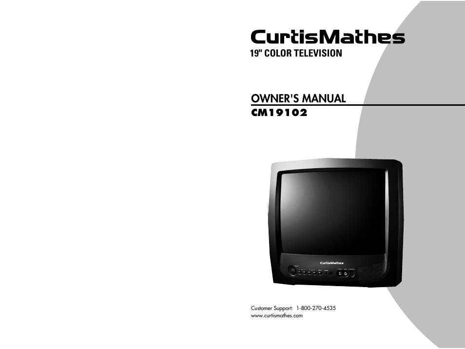 curtis mathes cm19102 user manual 32 pages rh manualsdir com curtis mathes tronics tv manual Royal Dane Curtis Mathes Manuals