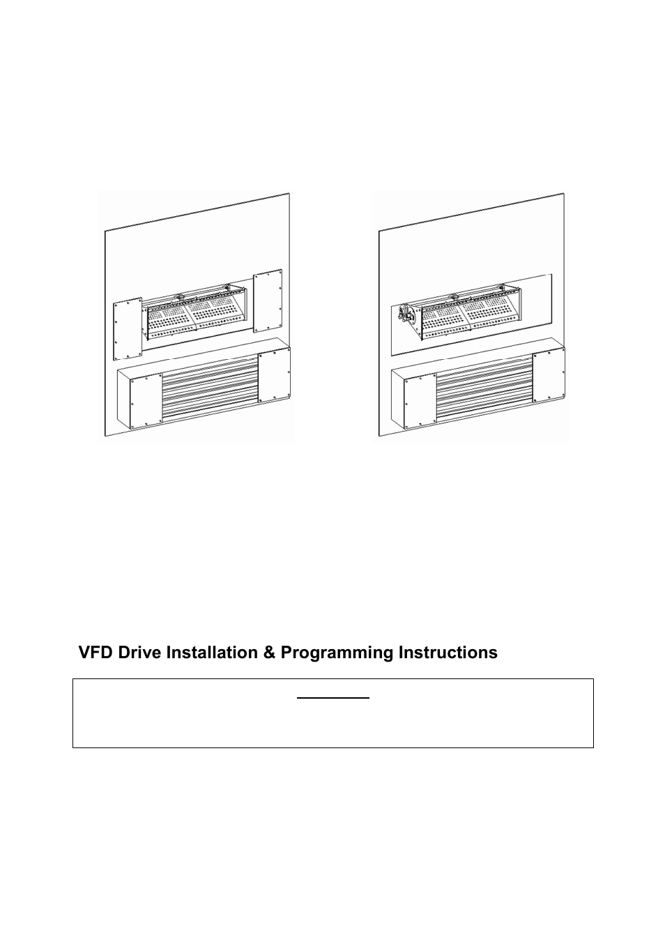 Vfd Drive Installation Programming Instructions Variable Air Drives Wiring Diagram Volume Profile Floaire Fav User Manual Page 22 40