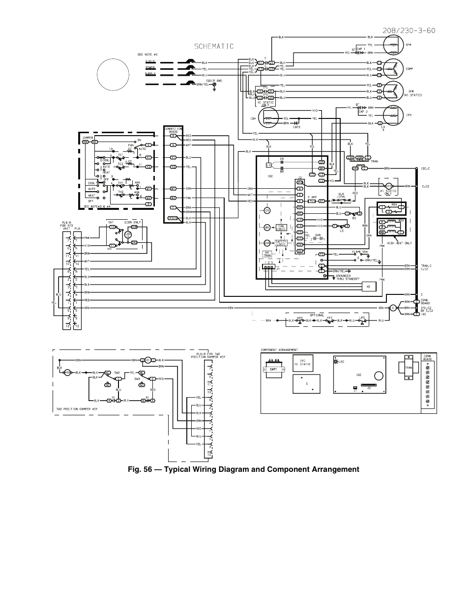 Old Carrier Package Unit Wiring Diagram Diagrams 48 Series 32 Air Conditioning Handler