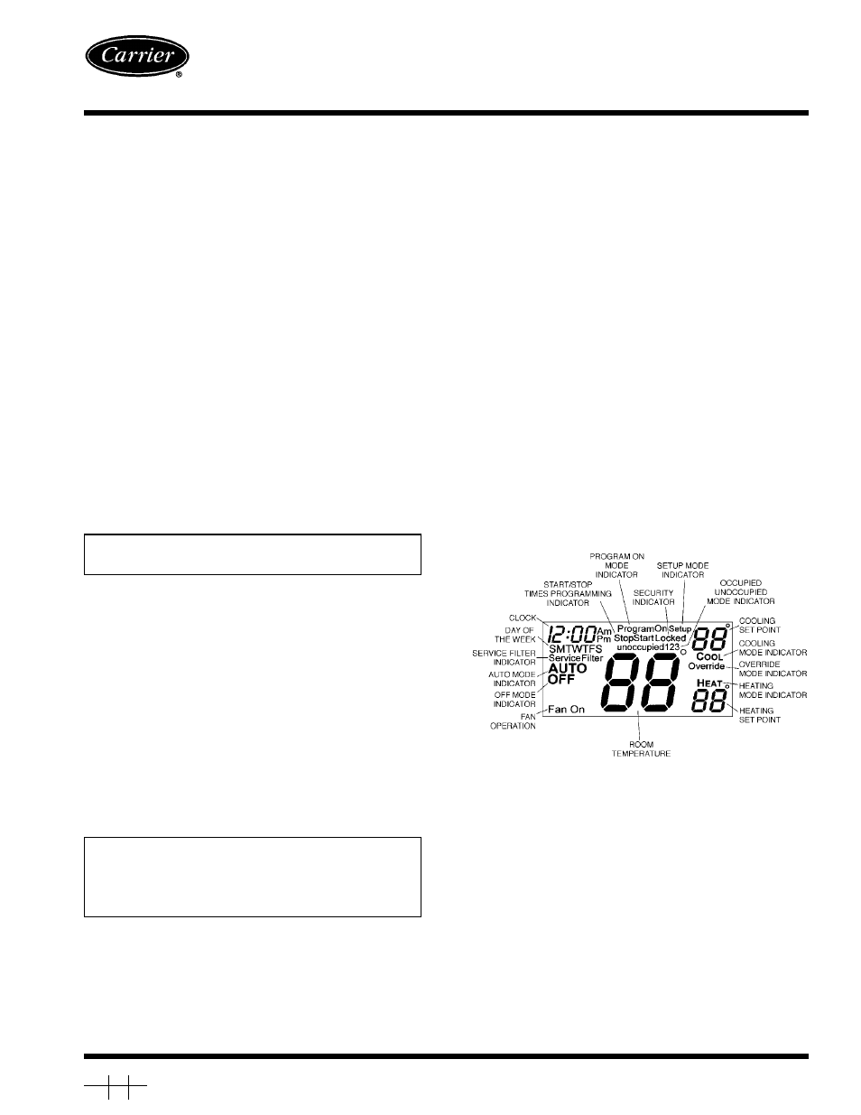 Carrier 33CS User Manual
