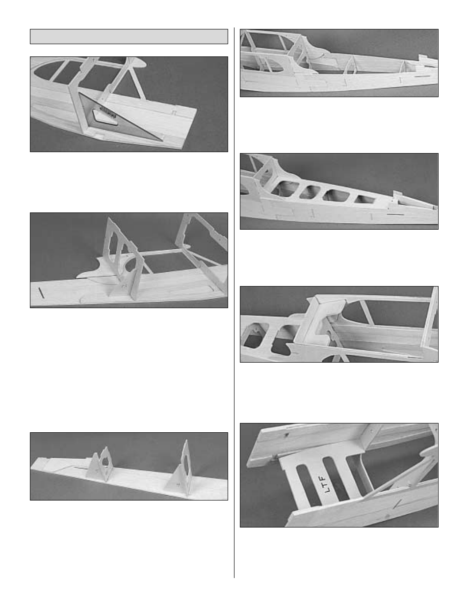 Assemble fuselage | Great Planes Piper J-3 Cub 40 Kit - GPMA0160 User Manual