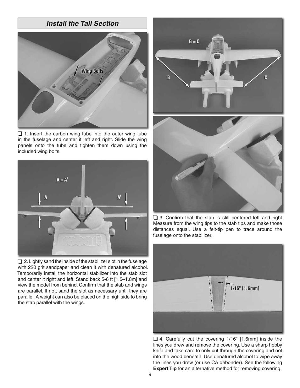 Great Planes Cirrus SR22 Turbo ARF - GPMA1166 User Manual