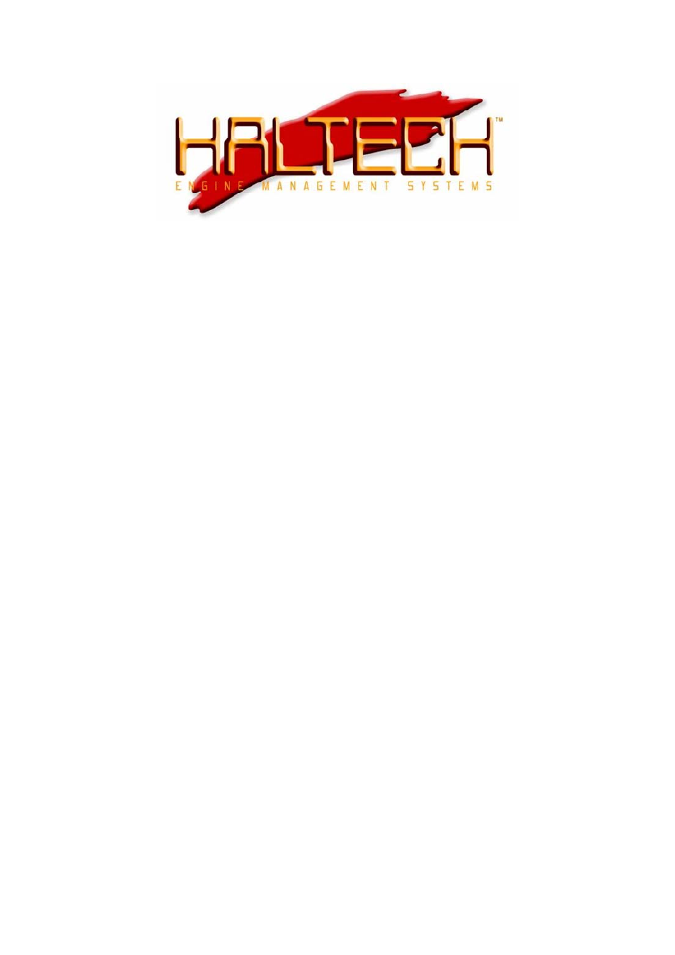 Haltech RA10 User Manual | 3 pages