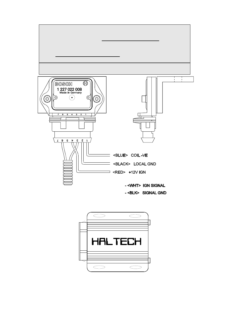 Haltech E6m User Manual Page 23 152 Also For E6h Bosch Ignition Module Wiring Diagram