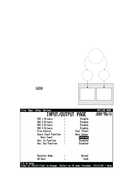 Method 1, Sensing engine load via tps | Haltech E6K User