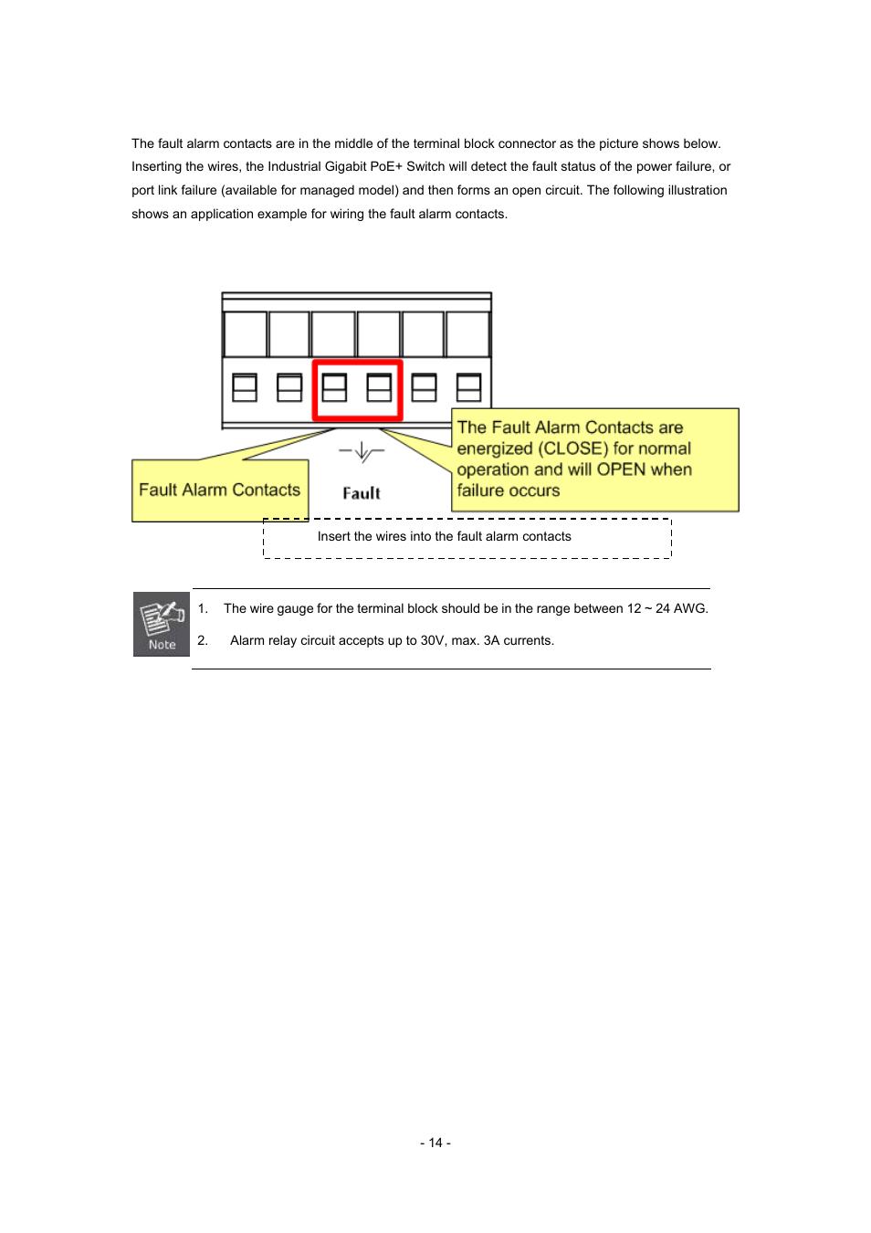 6 wiring the fault alarm contact interlogix mc352 4p 2s user car alarm  wiring diagram definitions