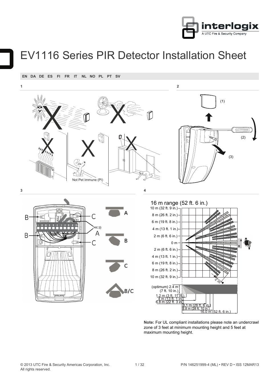 interlogix ev1116 user manual
