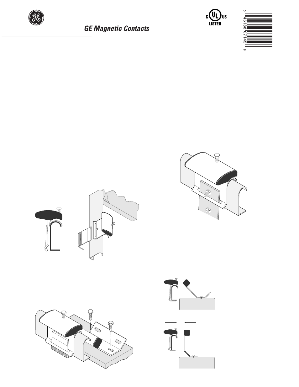Interlogix 2315 Series User Manual 2 Pages Check The Wiring Order Close Door And Screw It Back Into Place