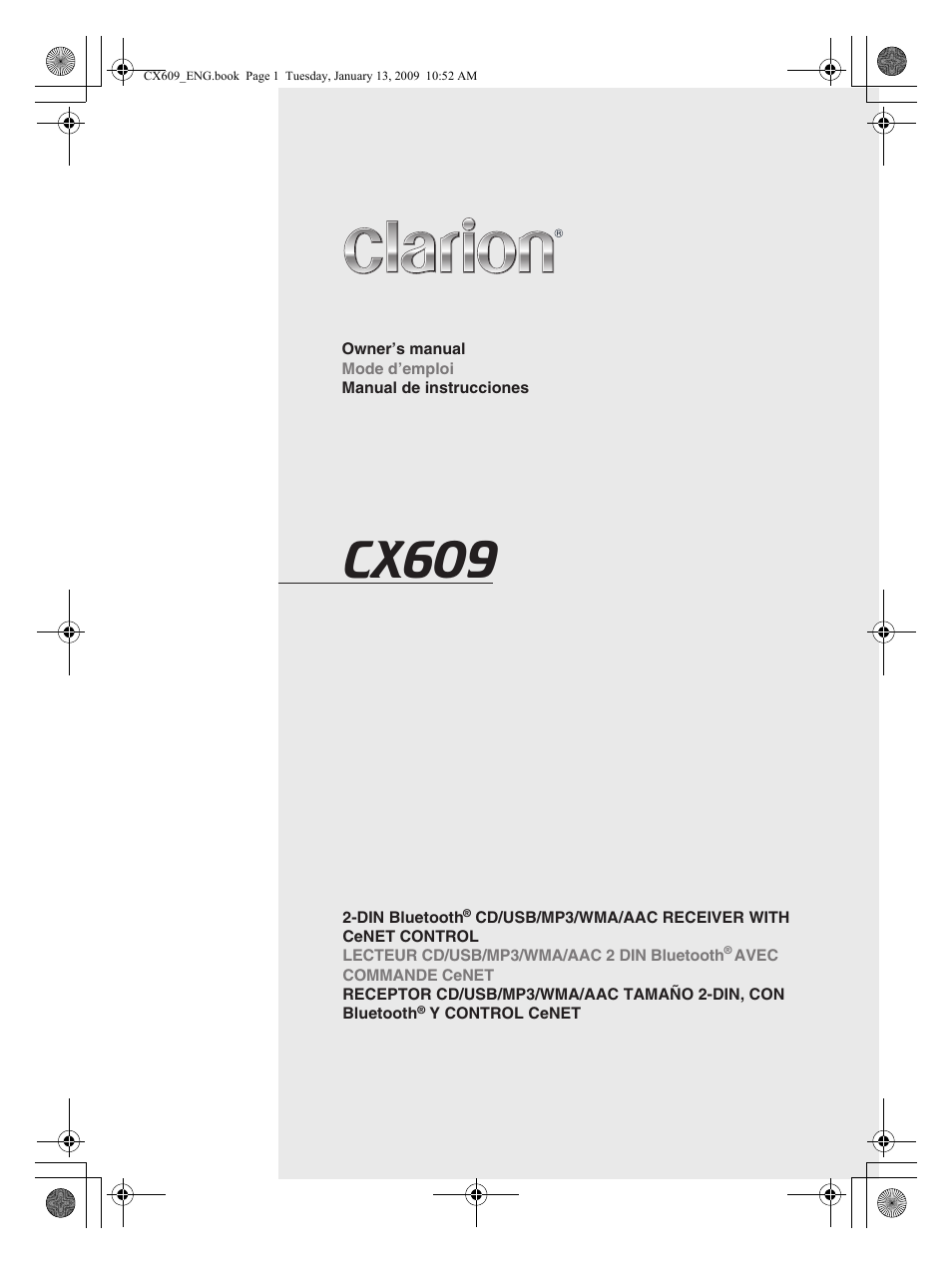 clarion cx609 user manual 38 pages 1986 Subaru Forester Flasher Relay Diagram