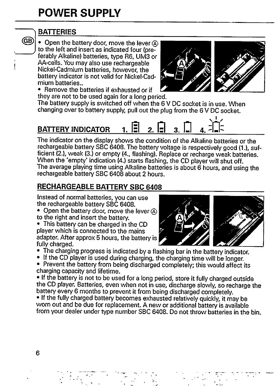 power supply batteries isl 2 19 3 d 4 philips az 6826 user rh manualsdir com Philips Electronics Manuals Philips Universal Remote User Manual