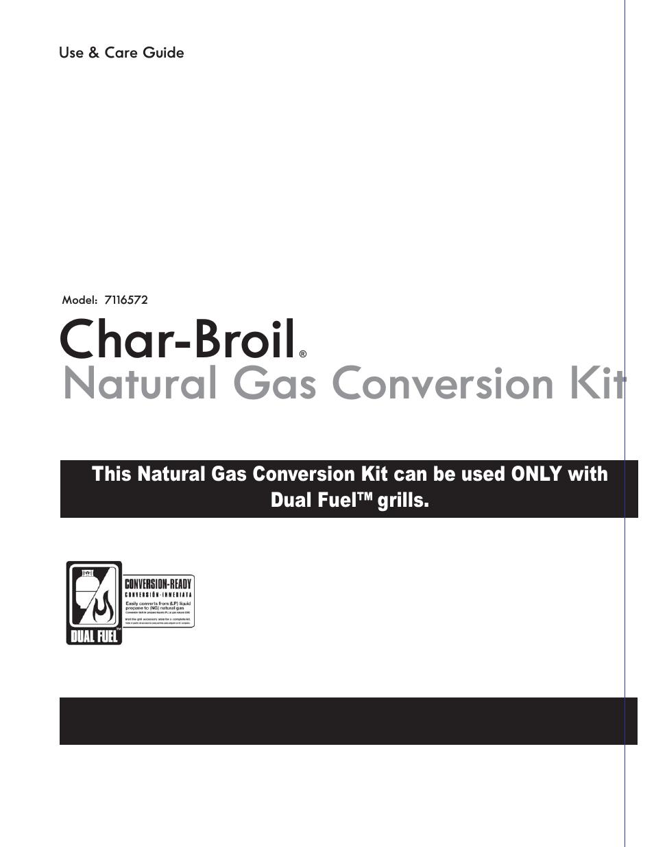 Can Char Broil Grill Model  Natural Gas Conversion Kit