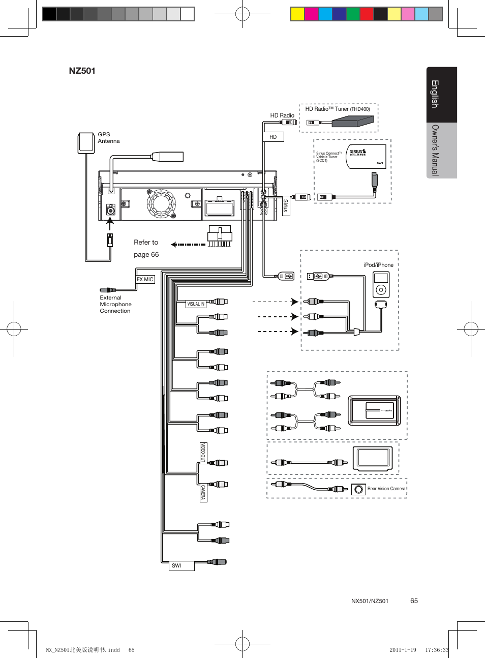 Wiring Diagram For Clarion Nx501