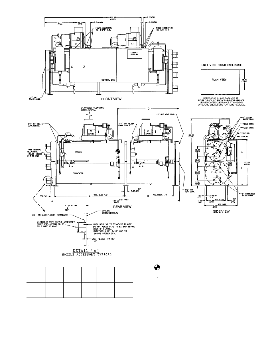Carrier 30HXA,HXC076-186 Water-Cooled and Condenserless Chillers User Manual    Page