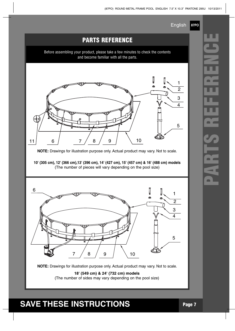 Intex 18 Ft X 48 In Metal Frame Pool User Manual Page 7