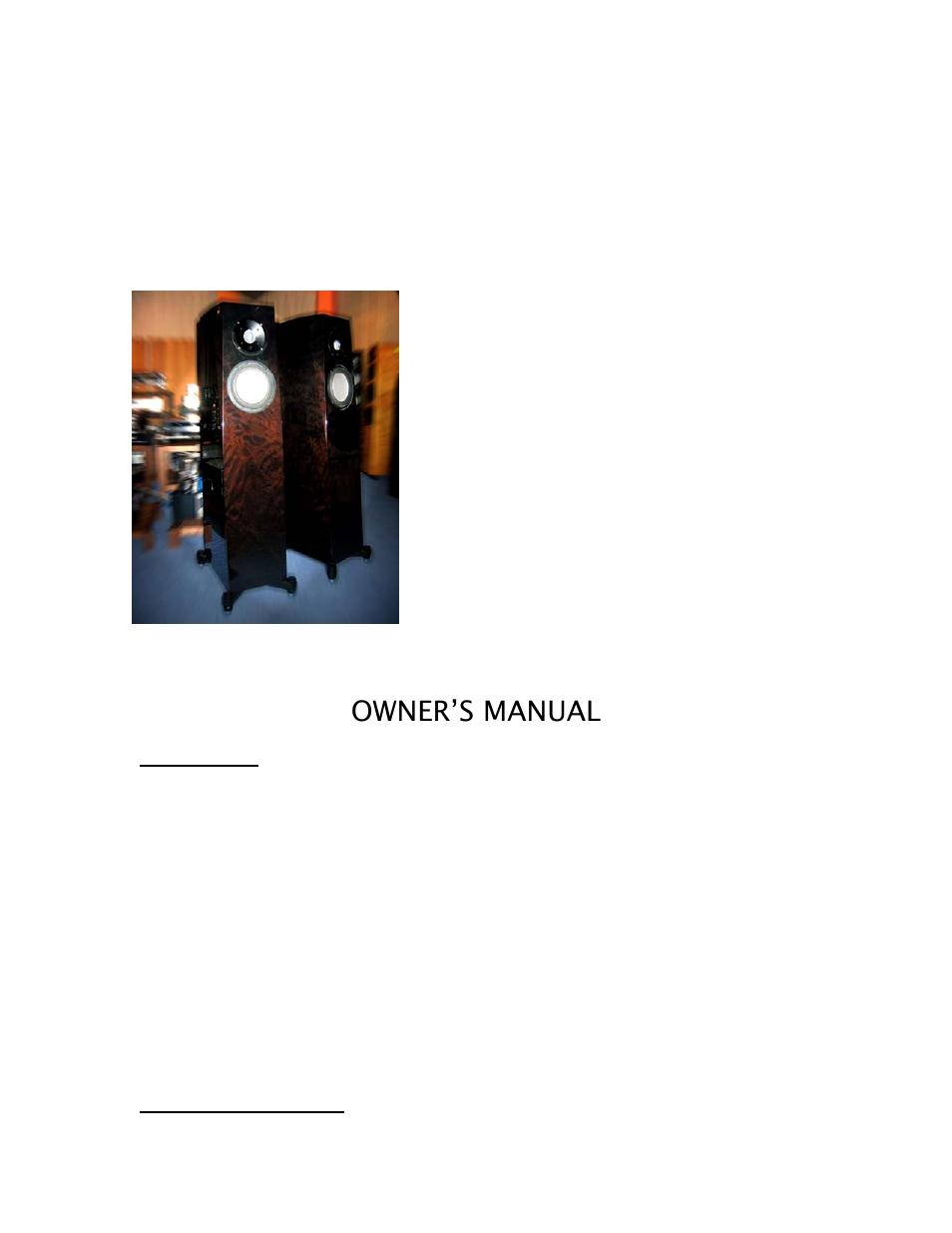 nieuw goedkoop nieuw goedkoop goedkoopste Orior grand, Owner's manual | Jas-Audio ORIOR GRAND User ...