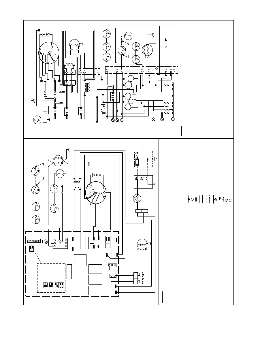 Transformer Wire Diagram Hs Smart Wiring Diagrams Edwards Transformers Fig 12 Unit Ir Id R B Lw Carrier Series 131 Rh Manualsdir Com Single Phase 598