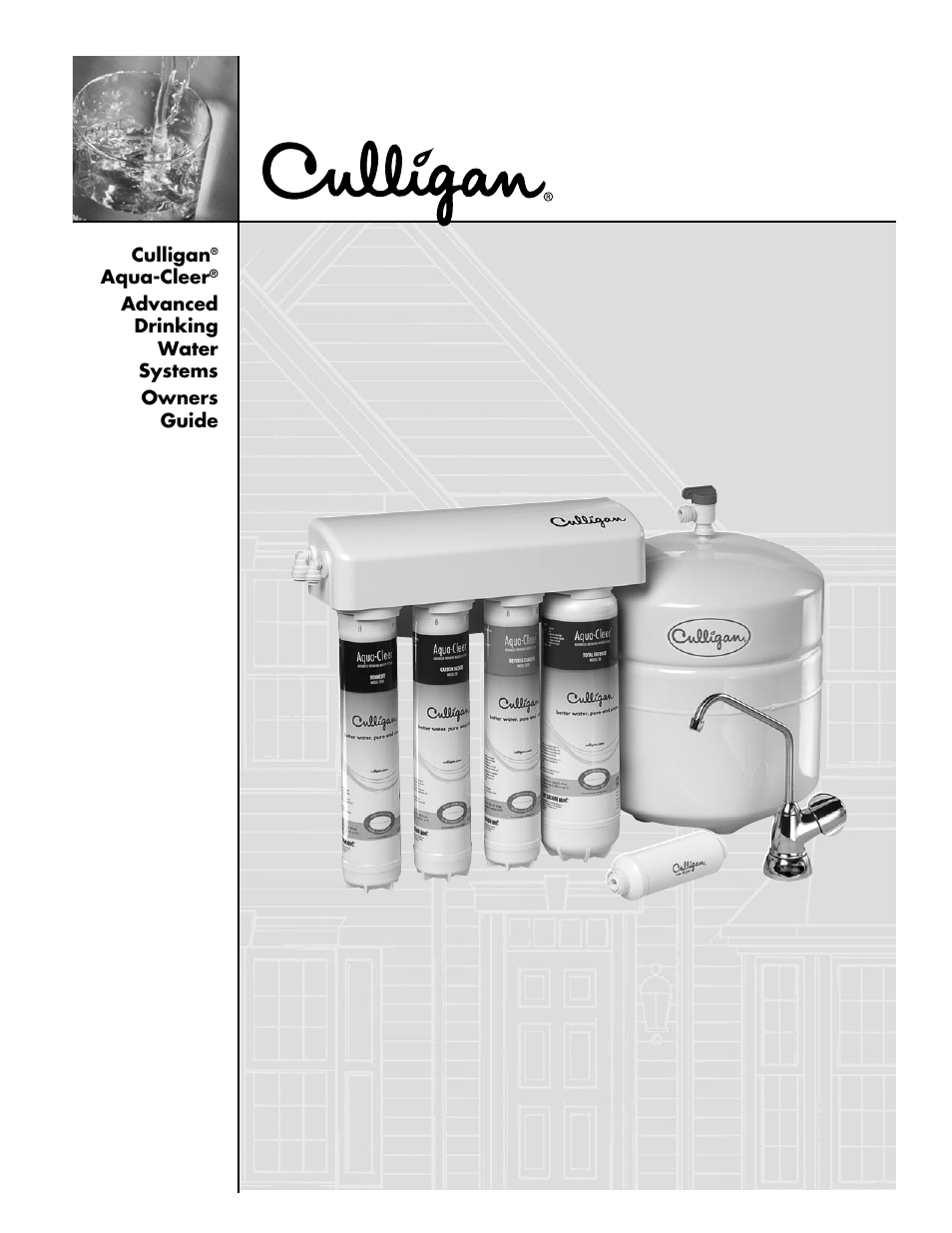 culligan aqua cleer advanced drinking water systems user manual 59 rh manualsdir com Culligan Aqua-Cleer Owner's Manual Culligan Drinking Water System Review