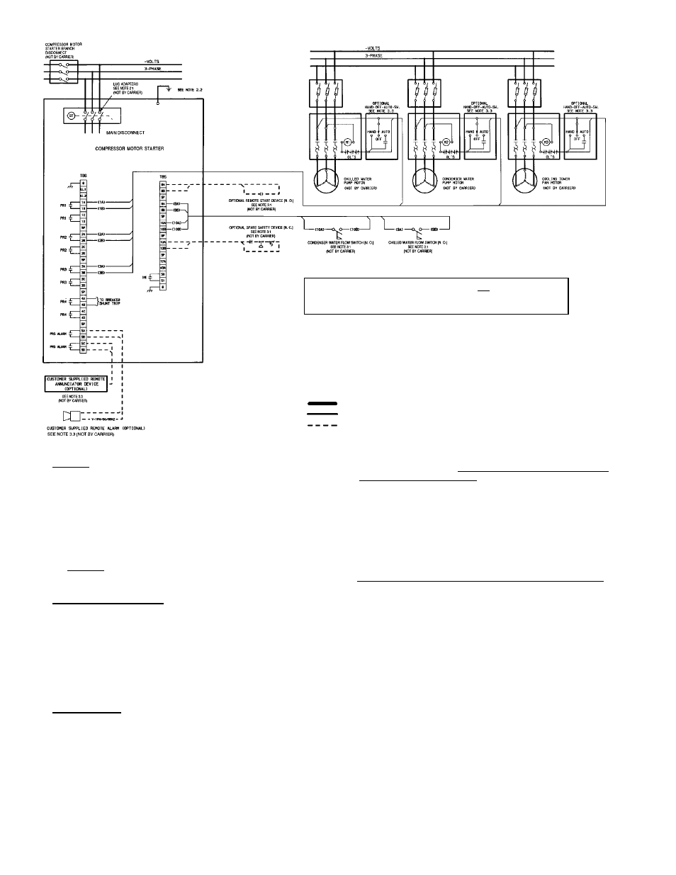 carrier hermetic centrifugal liquid chillers 19xr page32 carrier 30gx chiller wiring diagram gandul 45 77 79 119 Electric Furnace Wiring Diagrams at soozxer.org