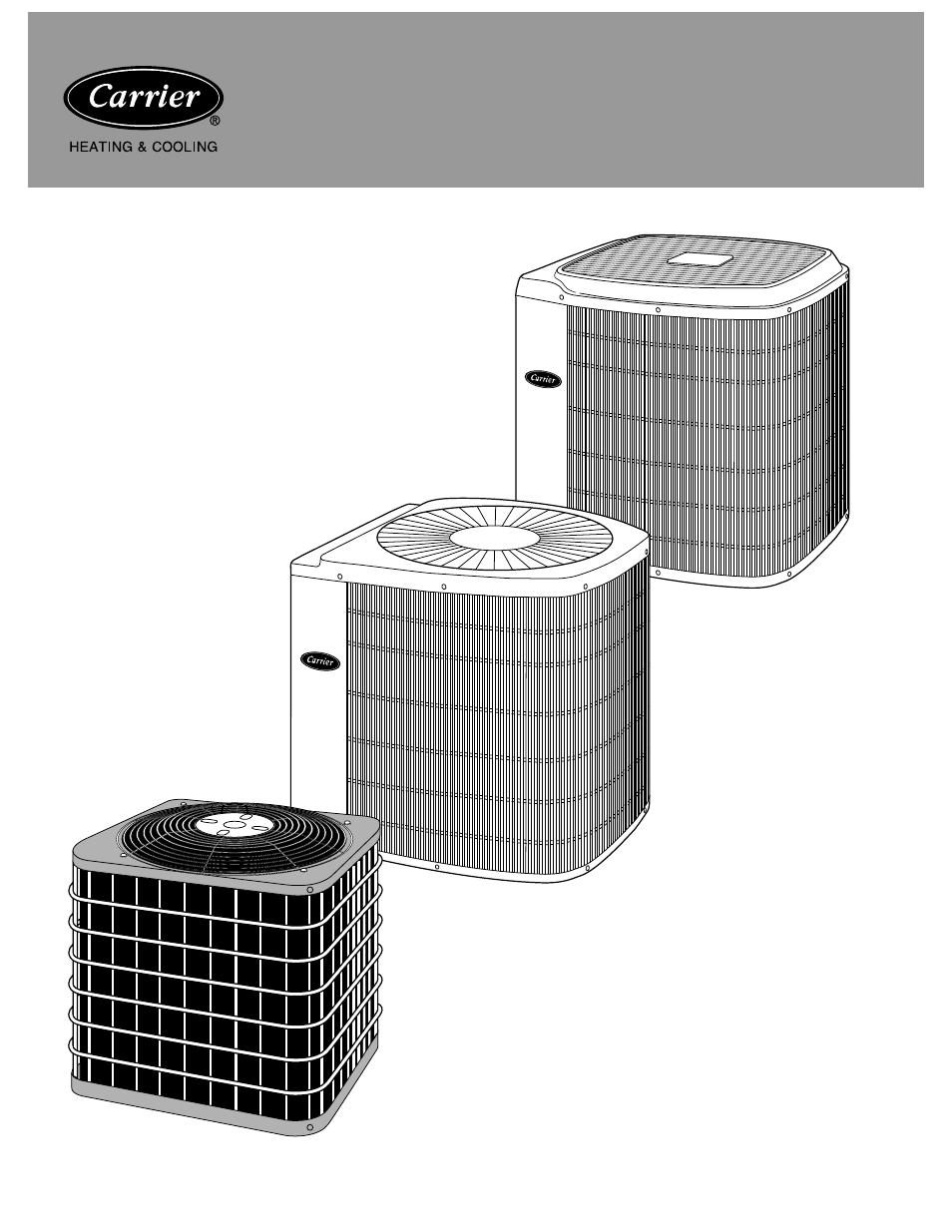 Carrier 38CKC042 Air User Manual | 8 pages | Also for: 38CKC048, 38CKC036  Air
