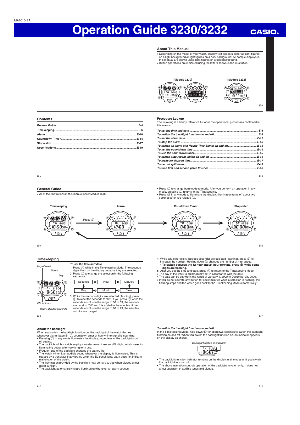 G Shock Gwt5030c1jr User Manual 3 Pages Also For Dw 6900ww 7 To Casio 6900nb 7dr Fu Club 6930d 1 6900sc 8dr 4 6900sb 8