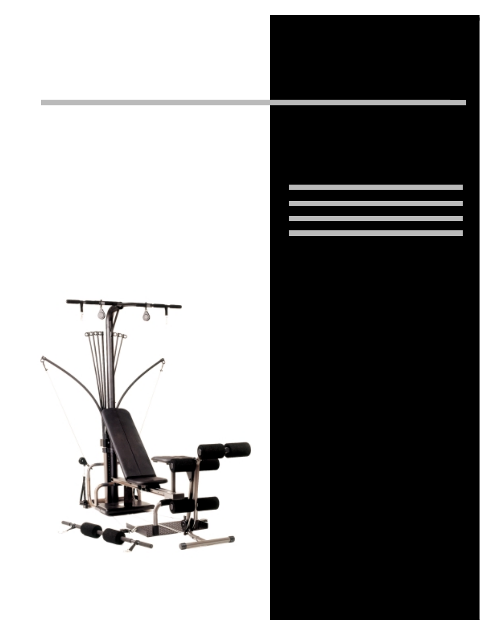 bowflex power pro xtl manuals rh manualsdir com Operators Manual Wildgame Innovations Manuals