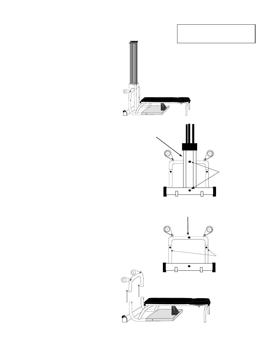 chest bar assembly instructions step 2 step 1 step 4 bowflex xtl rh manualsdir com Bowflex Treadmill Series 7 Bowflex XTL Manual PDF