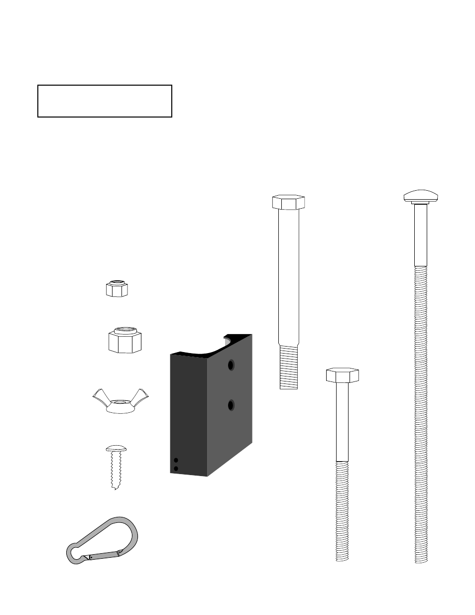Lat Pulldown Attachment Assembly Instructions Box