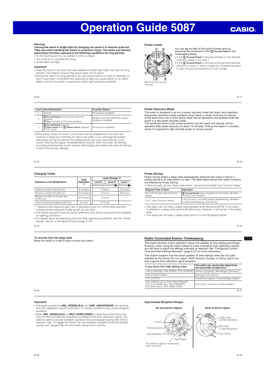 Operation guide 5087 | g-shock gw-4000 user manual | page 4 / 8.