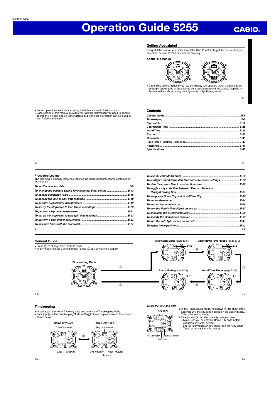 G Shock Ga 150 User Manual 6 Pages Also For 5255