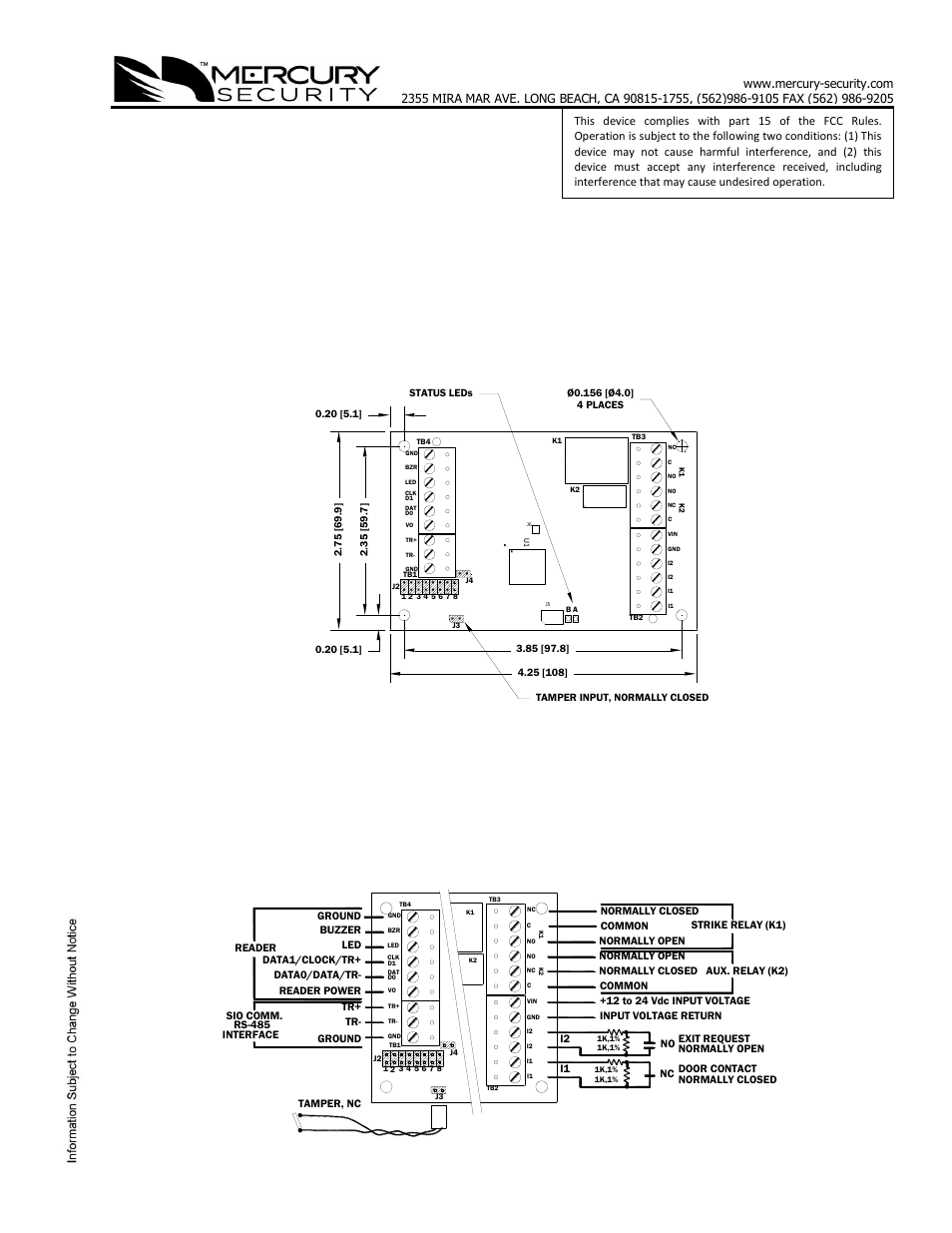 keri systems mr50 page1 mercury mr52 wiring diagram gandul 45 77 79 119  at bakdesigns.co