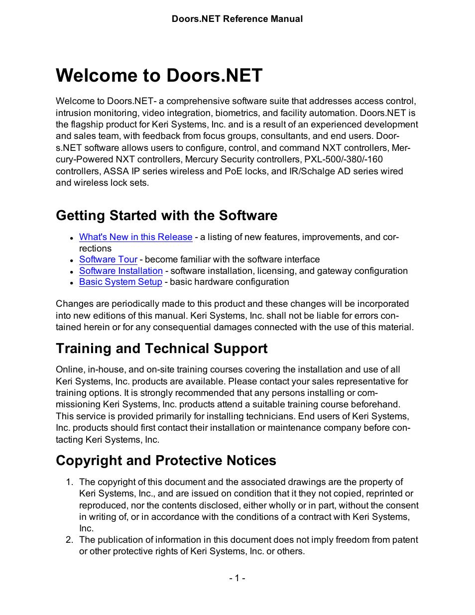 [QMVU_8575]  Keri Systems Doors.NET Manual User Manual | 602 pages | Keri Access Wiring Diagram |  | Manuals Directory