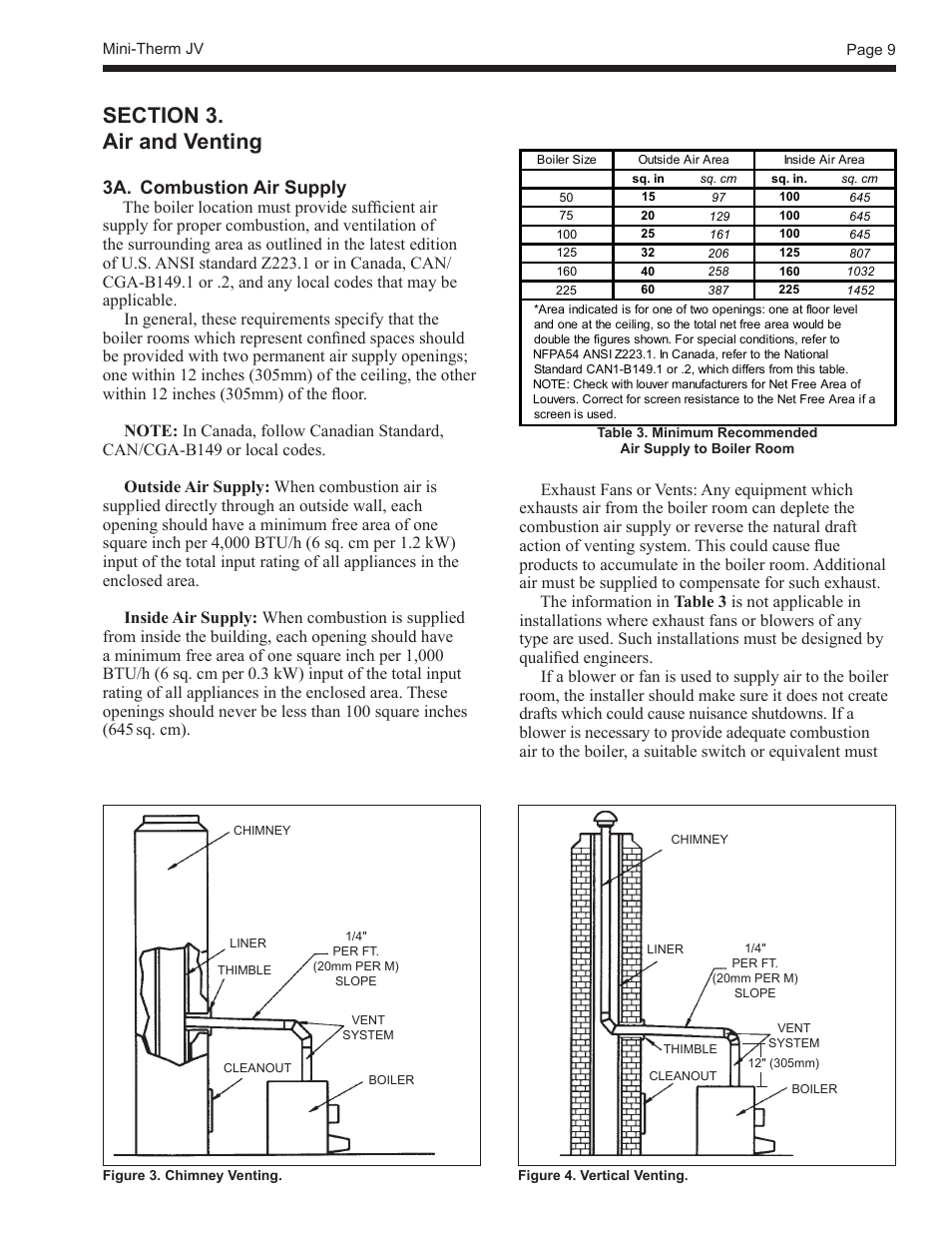 3a combustion air supply laars mini therm jvs sizes 50 225 rh manualsdir com