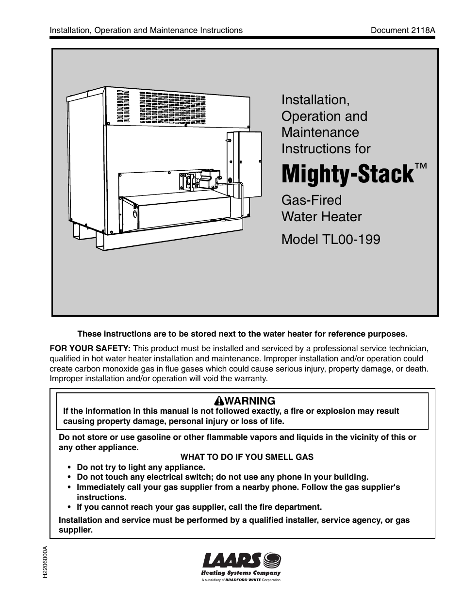 Laars mighty stack tl00 199 installation operation and laars mighty stack tl00 199 installation operation and maintenance instructions user manual 28 pages sciox Gallery