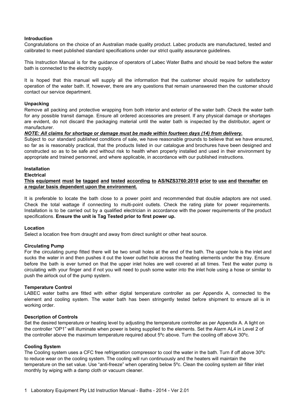 Labec lbc 8 user manual page 2 4 also for lbc 6 lbc 4 publicscrutiny Choice Image