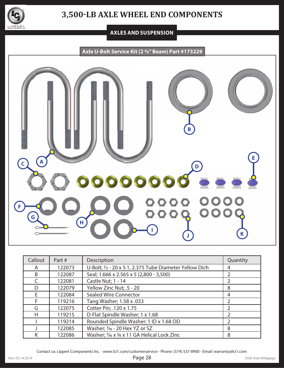 3 500 lb axle wheel end components lippert components trailer axle rh manualsdir com
