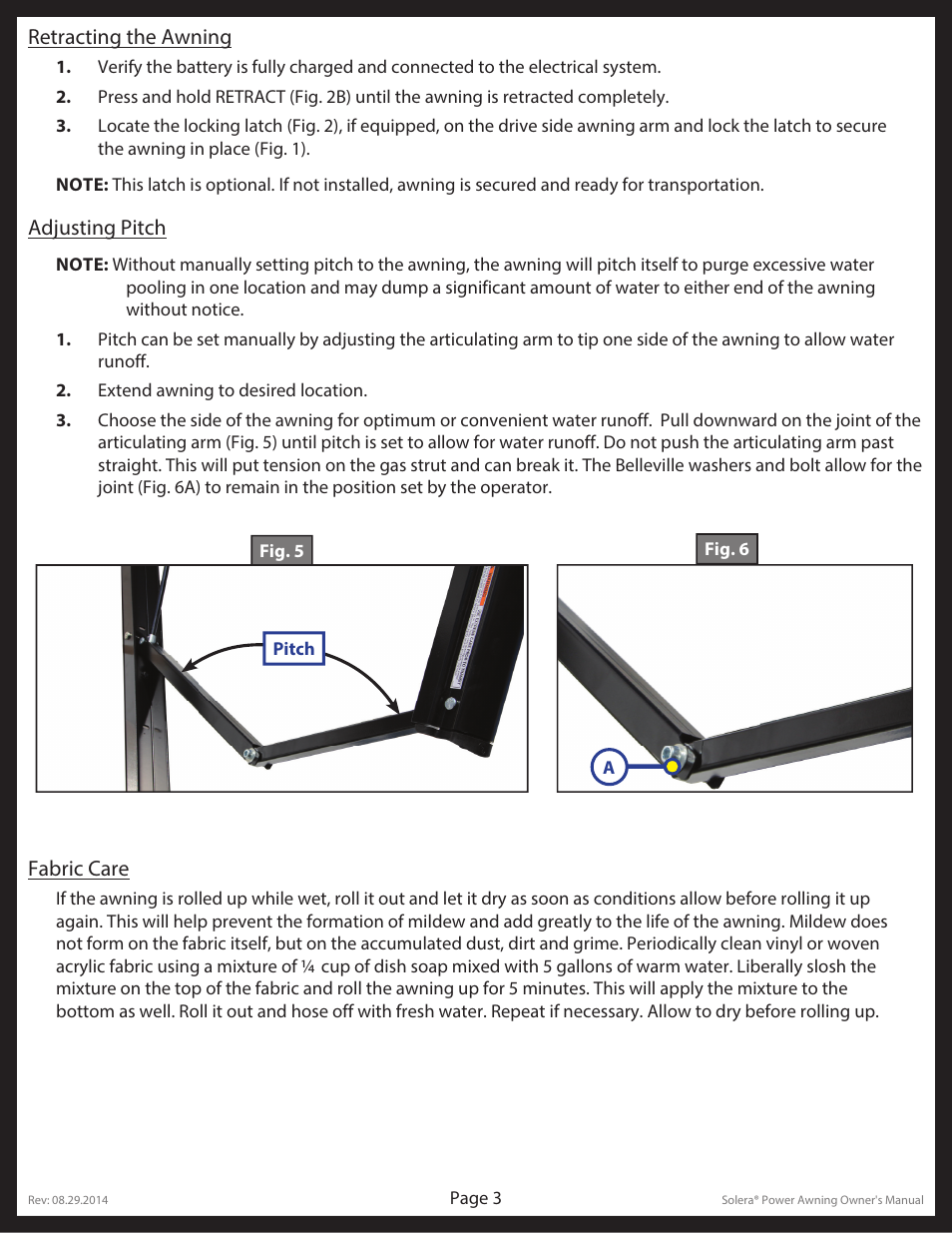 Lippert Components Solera User Manual Page 3 10