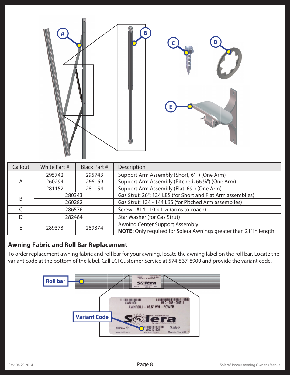 Lippert Components Solera User Manual Page 8 10