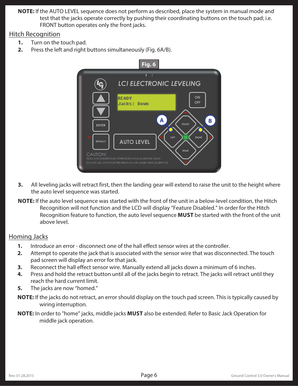 Lippert Components Ground Control 3 0 User Manual | Page 6