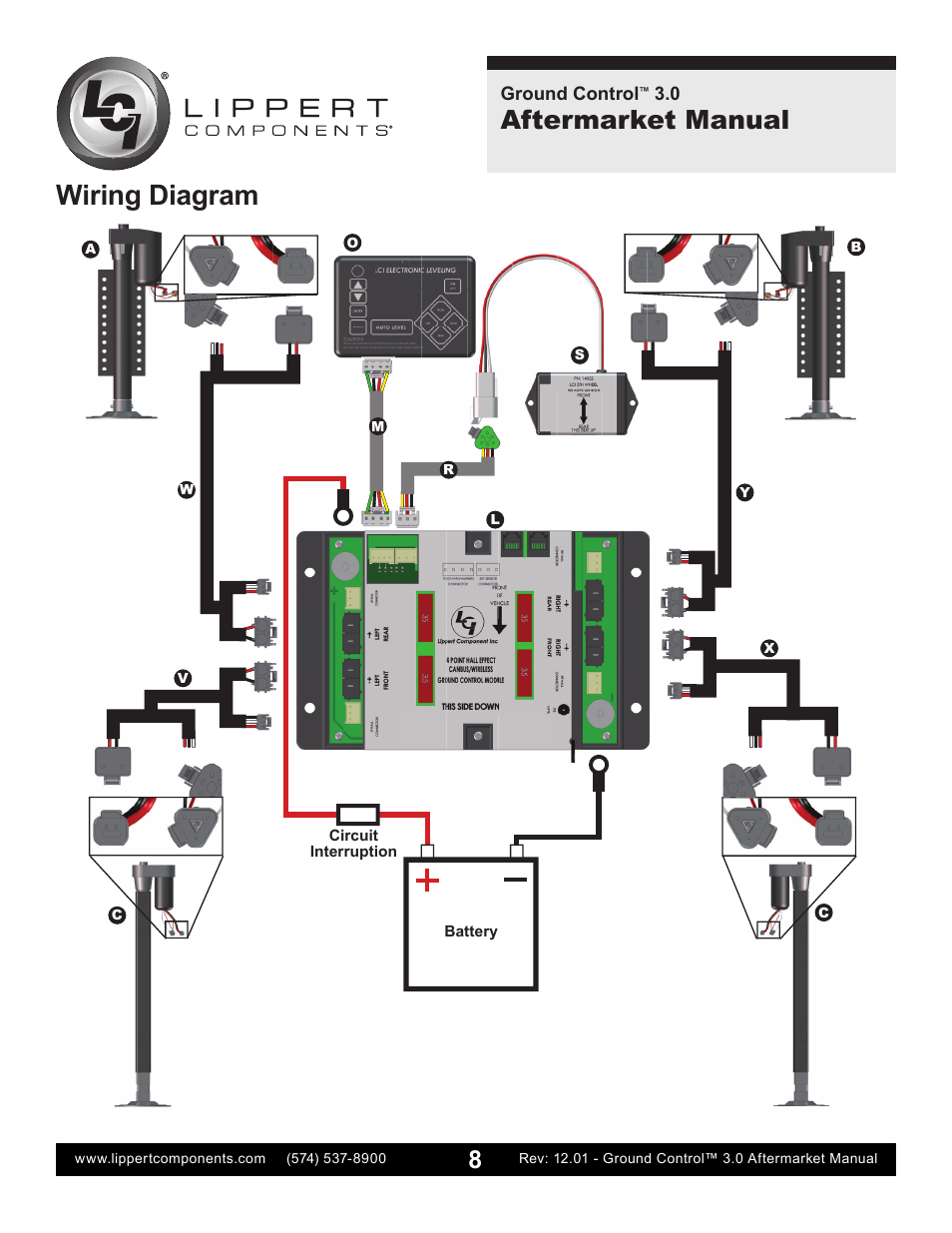 Wiring Diagram  Aftermarket Manual