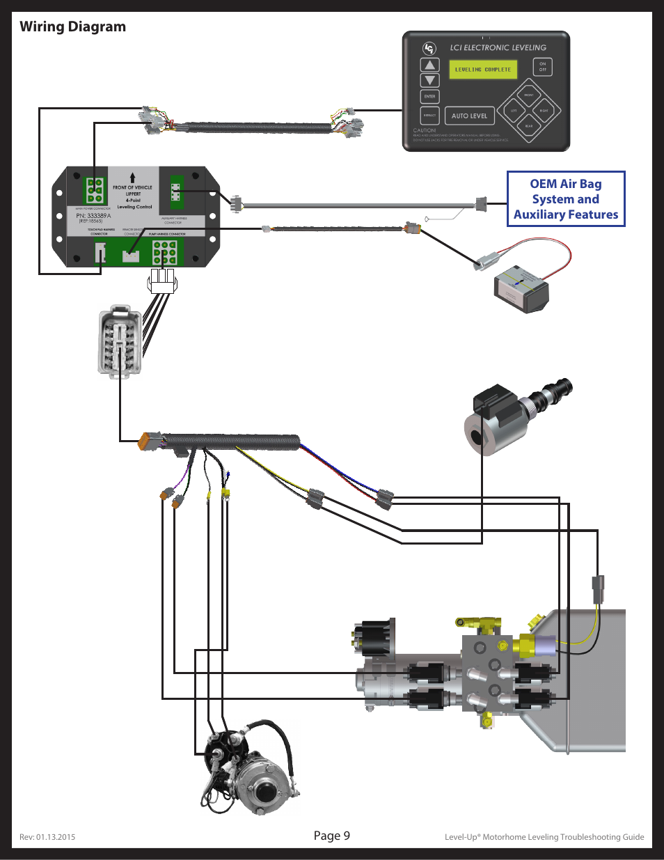 level up leveling system wiring diagram   39 wiring