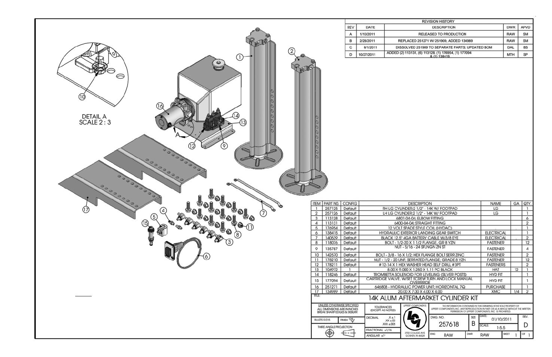 lippert components hydraulic landing gear 14k aluminum user manual rh manualsdir com Lippert 5th Wheel Landing Gear Lippert Landing Gear Manual