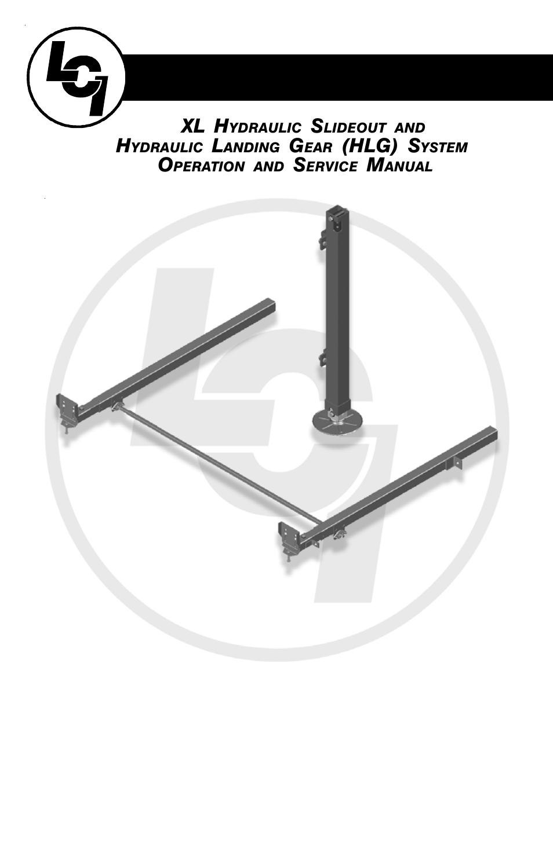 lippert components xl hydraulic slideout and hydraulic landing gear rh manualsdir com Atwood Landing Gear 5th Wheel Landing Gear Parts