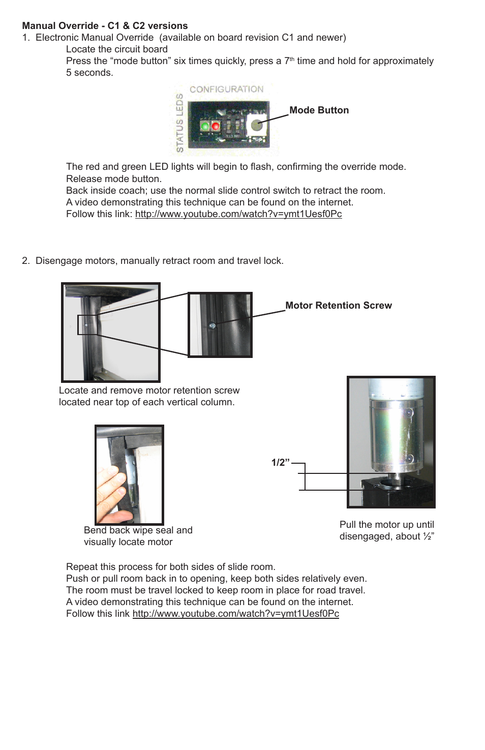 Lippert Components In Wall Slide Out System Winnebago Industries Intro To Parallel Circuits Youtube User Manual Page 2 4