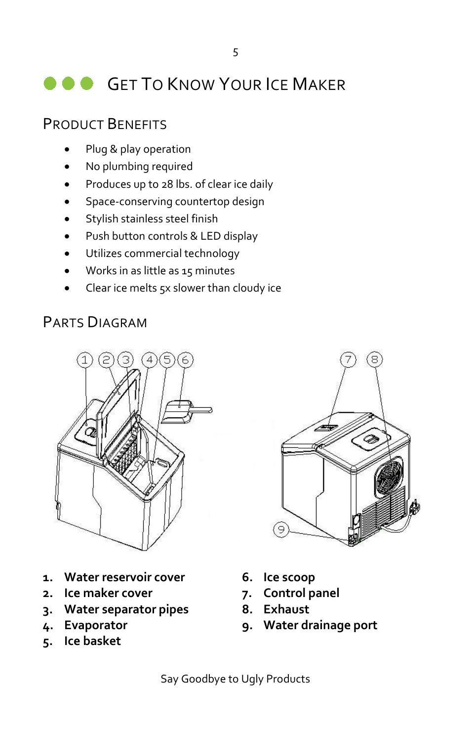 Luma Comfort Im Ss Manual Page on Kenmore Ice Maker Parts Diagram