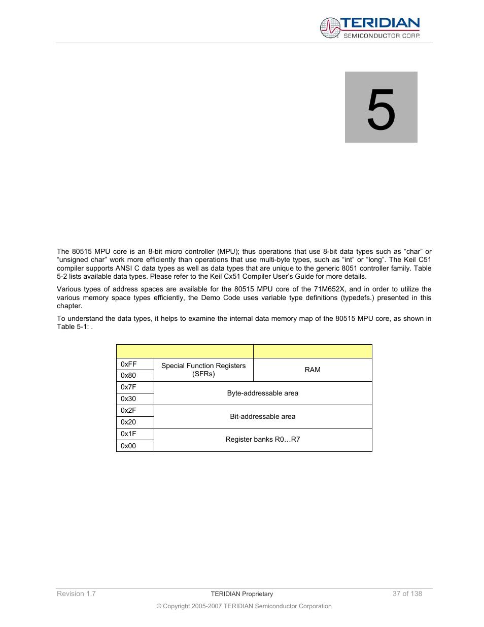 Demo code description, 1 data types, Demo code descrip