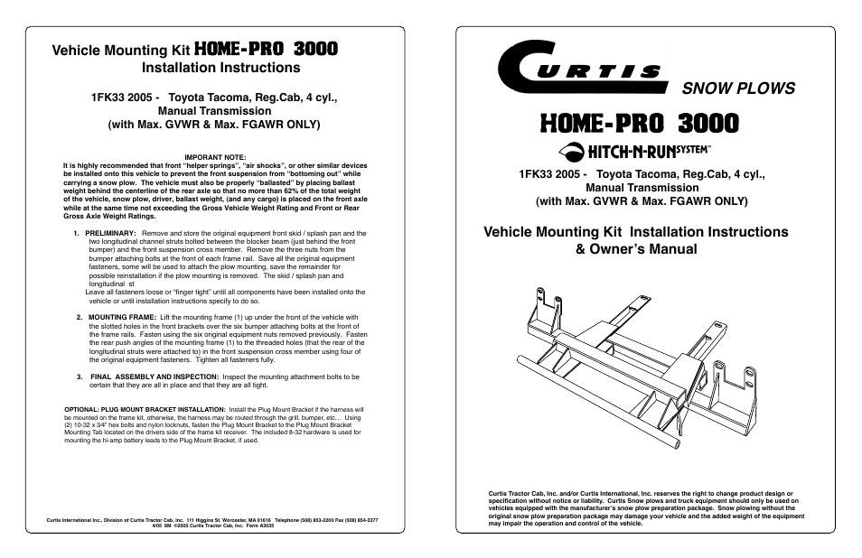 Curtis Snow Plow Manual - Free User Guide • on curtis parts list, curtis controller manual, curtis battery, curtis plow wiring, curtis remote control, curtis plow harness, curtis pmc 1204 diagram, curtis 1204 controller, curtis electrical diagrams, curtis fuel gauge, curtis tools,