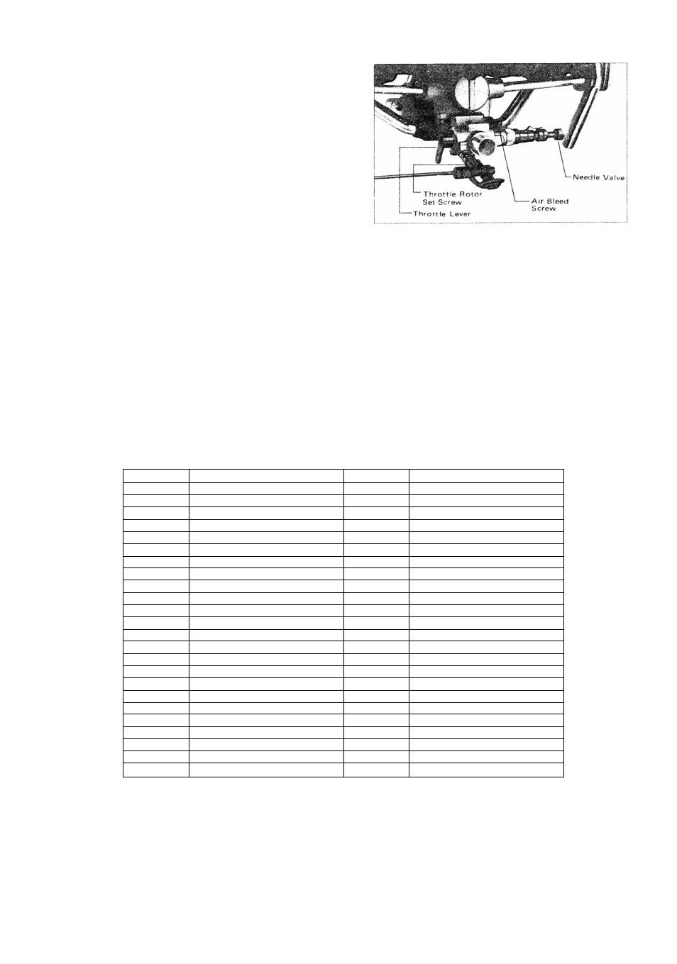 o s engines mfg co ltd parts list o s engines ft 300 gemini rh manualsdir com os engines manual pdf os 46 engine manual
